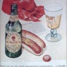 1949 Red Cap Ale Hotdog ad