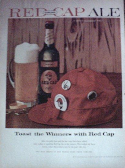 1958 Red Cap Ale ad #1