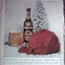 1958 Red Cap Ale Christmas ad