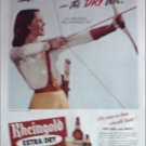 1944 Rheingold Beer ad featuring Miss Rheingold Jane House