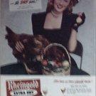 1946 Rheingold Beer ad featuring Miss Rheingold Rita Daigle