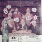 1992 Rolling Rock Beer Theories of #33 ad