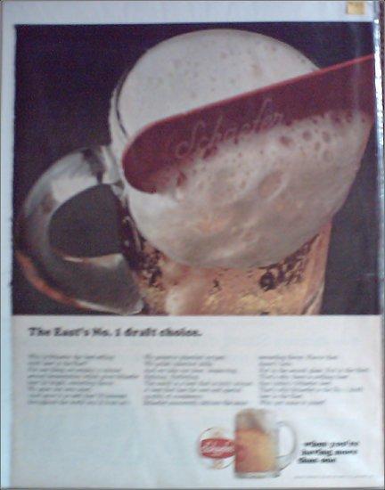 Schaefer Beer ad