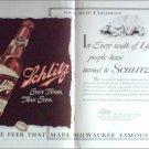 1940 Schlitz Beer ad #3