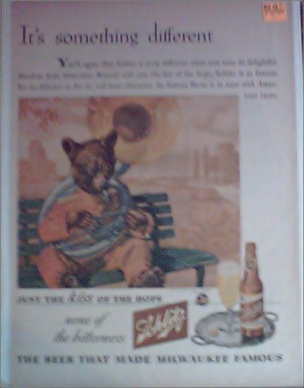 1944 Schlitz Beer ad #1