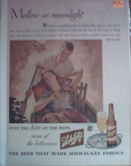 1944 Schlitz Beer ad #2