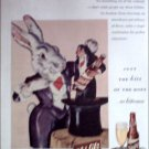 1945 Schlitz Beer Magic Rabbitt ad