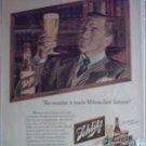 1947 Schlitz Beer ad #1