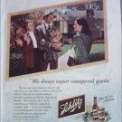 1947 Schlitz Beer ad #2