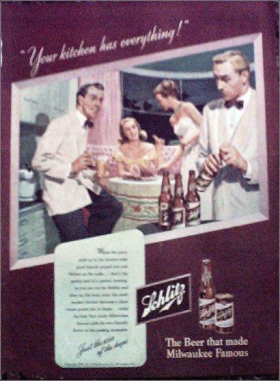 1947 Schlitz Beer ad #6