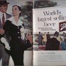 1956 Schlitz Beer ad #1