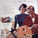 1956 Schlitz Beer Halloween ad