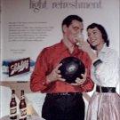 1957 Schlitz Beer ad #1