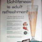 1957 Schlitz Beer ad #2