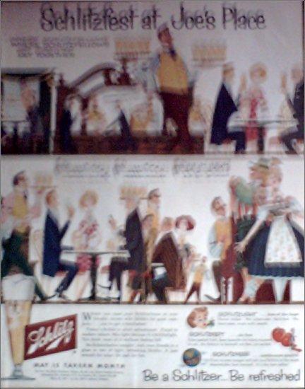 1957 Schlitz Beer ad #4