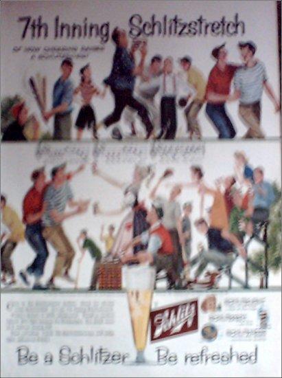 1957 Schlitz Beer ad #5