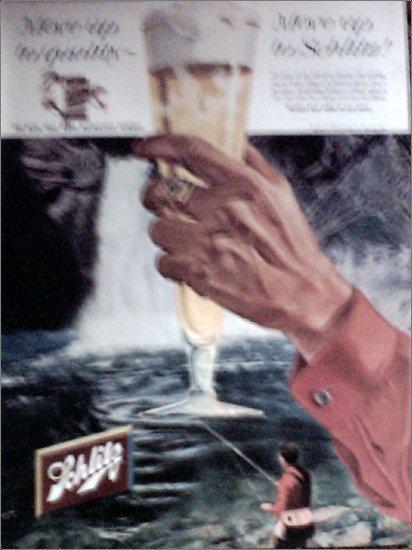 1958 Schlitz Beer ad #2