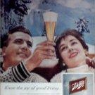 1959 Schlitz Beer ad #1