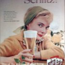 1960 Schlitz Beer ad #4