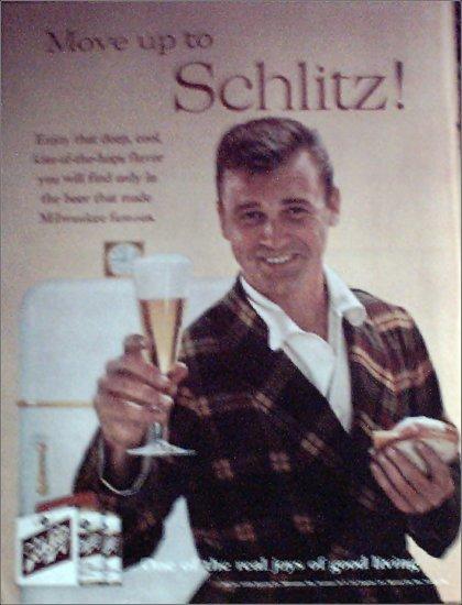 1960 Schlitz Beer ad #6