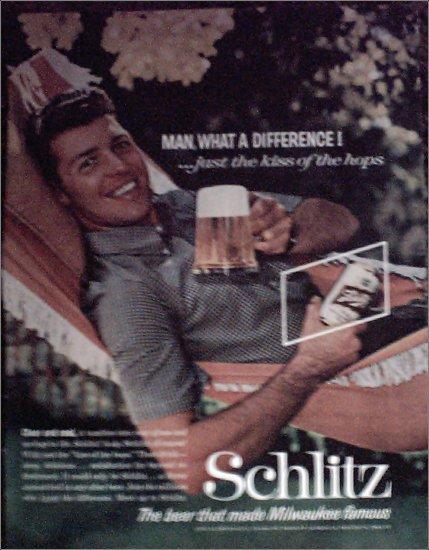 1961 Schlitz Beer ad #1