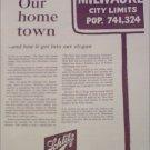 1961 Schlitz Beer ad #6