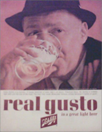 1963 Schlitz Beer ad #4