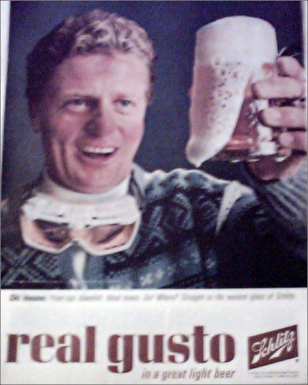 1964 Schlitz Beer ad #4