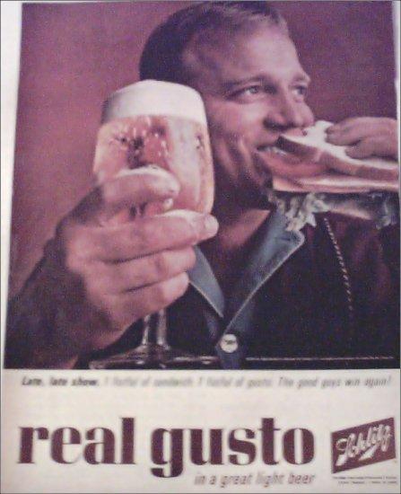1964 Schlitz Beer ad #5