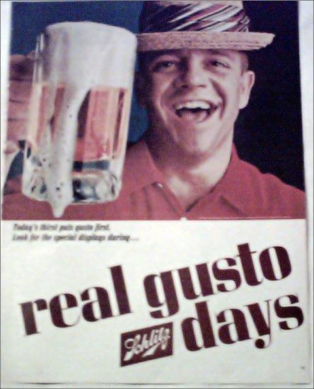 1965 Schlitz Beer ad #3