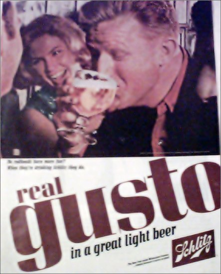 1965 Schlitz Beer ad #4