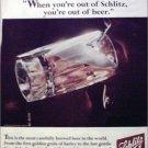 1966 Schlitz Beer ad #1