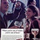 1966 Schlitz Beer ad #5