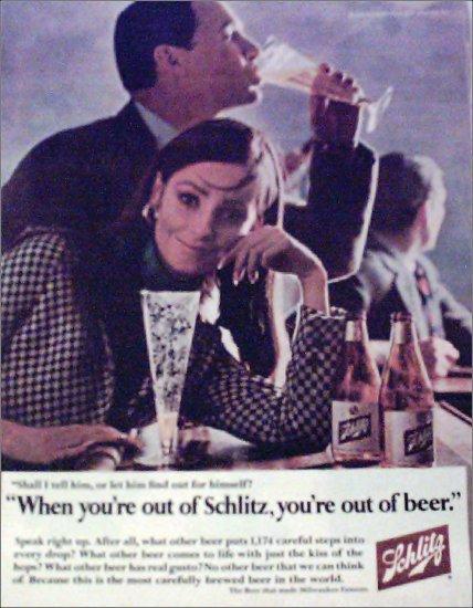 1966 Schlitz Beer ad #9