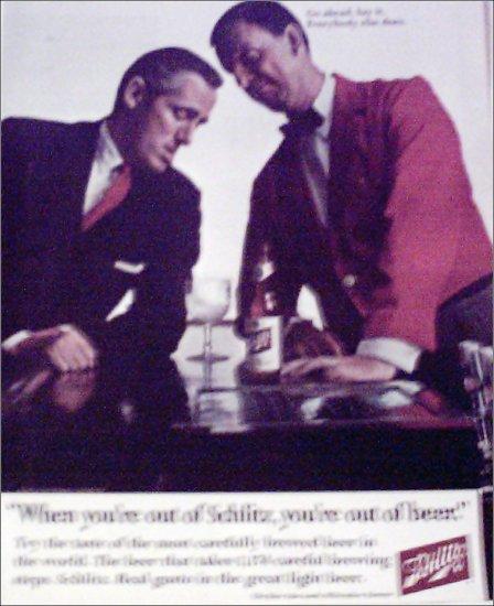 1967 Schlitz Beer ad #1