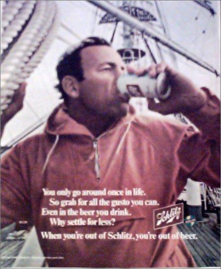 1970 Schlitz Beer ad #2