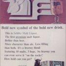 1965 Schlitz Malt Liquor ad #1