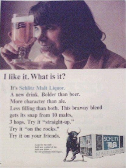 1965 Schlitz Malt Liquor ad #2
