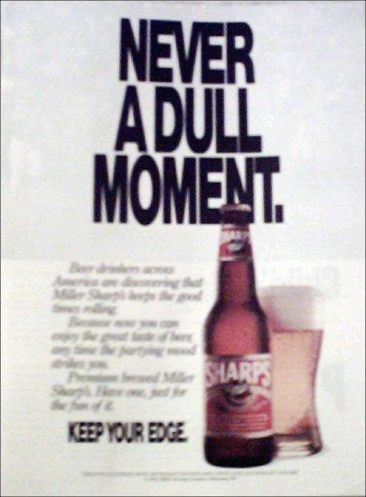 1992 Sharps Beer ad #1