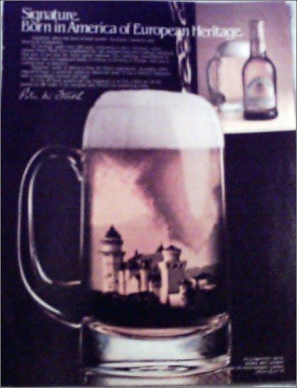 1986 Signature Beer ad #1