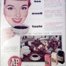 A&P Coffee ad #1