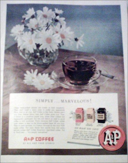 A&P Coffee ad #2
