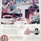 1956 A&P Coffee Christmas ad