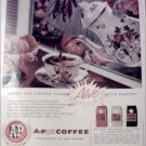 1958 A&P Coffee ad