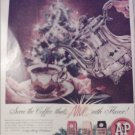 1958 A&P Coffee Christmas ad