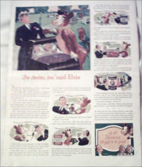 1940 Borden Eagle Brand Milk ad