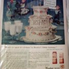 1957 Borden's 100th Anniversary ad