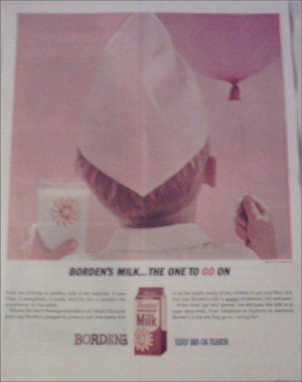 1962 Borden Milk ad
