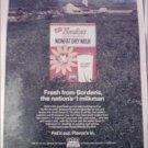 1967 Borden's Instant Dry Milk ad