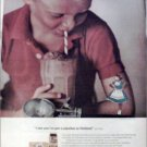 1962 Borden's Dutch Chocolate Milk ad